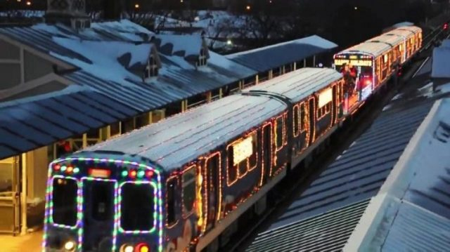 Chicago's 2016 CTA Holiday Christmas Train Starts Up This Weekend ...